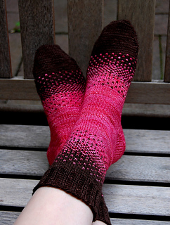 There & Back Again Socks