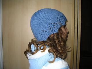 "Louisa Harding ""Sitting Pretty Lace Edged Hat"""