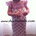 Toddler Flower Dress pattern