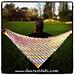 Crochet Flower Lattice Shawl pattern