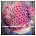 3D Flower Bonnet Newborn pattern