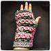 Tunisian Roses Wristlets pattern