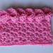 Crochet Flower Edging pattern