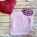 I Heart You Dishcloth pattern