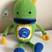 Little Green Robot pattern