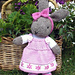 bunty bunny rabbit with removeable dress pattern