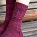Pizzicato Pinstripe Socks pattern
