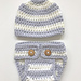 Simple Diaper Cover and Hat pattern