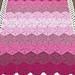 Ombre Hexagon Blanket pattern