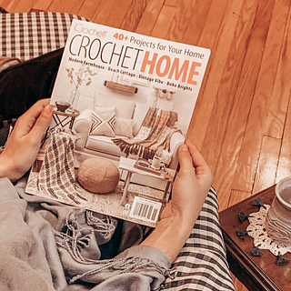 Featured in Crochet! Crochet Home - Late Spring 2021 Edition