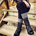 Soho Boot Cuffs pattern