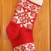 Selbu Roses Christmas Stocking pattern