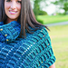 Rustically Elegant Shoulder Warmer pattern