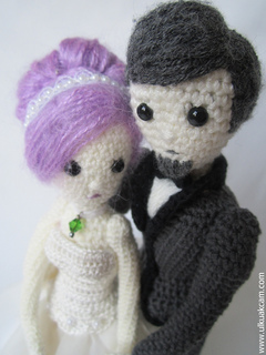 Crochet Wedding Dolls | Amigurumi | Singapore | Crochet, Crochet ... | 320x240
