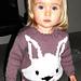 Rabbit Face Jumper 1-2 yrs pattern