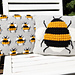 Bee Cushions pattern