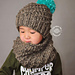 Helix Slouch Beanie & Cowl pattern