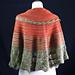 Zahara Paradise Shawl pattern