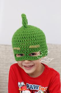 Green PJ MASKS Child Gekko Beanie Knit Hat