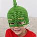 Gekko Mask Hat (PJ Masks) pattern