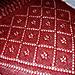 Pansy Triangle Shawl pattern