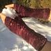 SWEATER fingerless gloves pattern