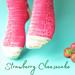 Strawberry Cheesecake Socks pattern