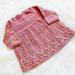 Foliage Baby Dress pattern