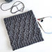 Travelling Cables Cowl pattern