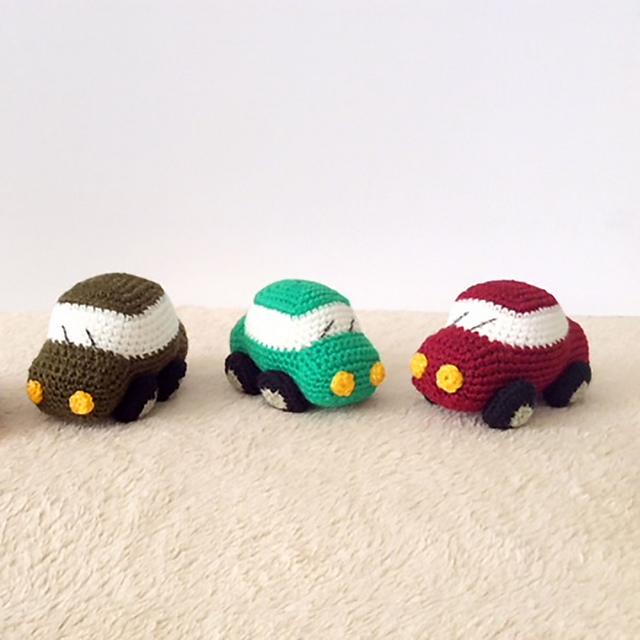 Amigurumi Car Crochet Free Pattern | 640x640