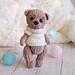 The plush bear pattern