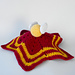 Golden snitch lovey pattern