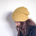 The Beehive Beanie pattern