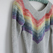 Rainbow Smiles Sweater pattern