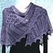 Rosevine shawl- Feather Light Shawls pattern pattern