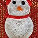 Brr Snowman Dishcloth pattern