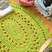 Picot Fan Placemat pattern