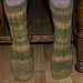 Wheat Stalk Sock pattern