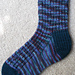 Skyp Rib Socks pattern