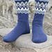 0-1147 Ólafur Socks pattern