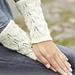 172-29 Snow Angel Wrist Warmers pattern