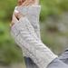 173-21 Winter Wired Wrist Warmers pattern