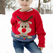 s32-18 Christmas KAL 2018 Red Nose Jumper Kids pattern