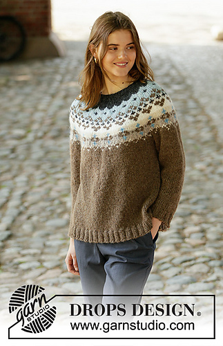 Ravelry: 207 21 Winter Fjords pattern by DROPS design