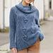 205-13  Blue Melody pattern