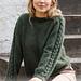 215-5 Deep Woods Sweater pattern