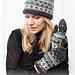 214-50 a Winters Night Enchantment Hat pattern