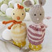 0-838 Egg warmers for Easter pattern