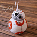 Life-sized BB-8 Droid from Star Wars pattern