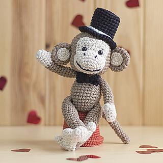 Mike the Monkey - Amigurumi Crochet pdf Pattern (EN, DK & NL ... | 320x320